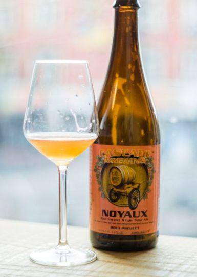 Cascade Brewing - Noyaux 2013 Photo Credit: @SorachiPhotography Instagram