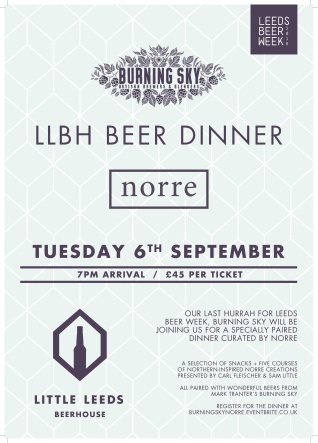 Beer Dinner with Norre