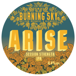 Burning Sky, Arise, Session IPA, 4.4%, £12/£4.50