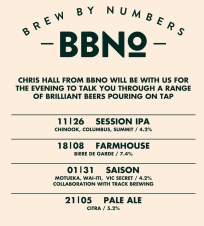 Brew By Numbers Tap Takeover