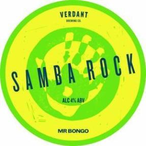 Verdant, Samba Rock 4.0% Pale Ale