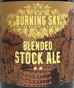 Burning Sky Stock Ale