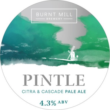 Pintle, Pale Ale 4.3% *£4.80 per pint*