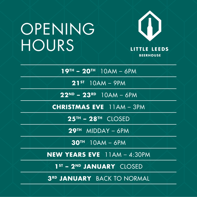 opening hours 17-18