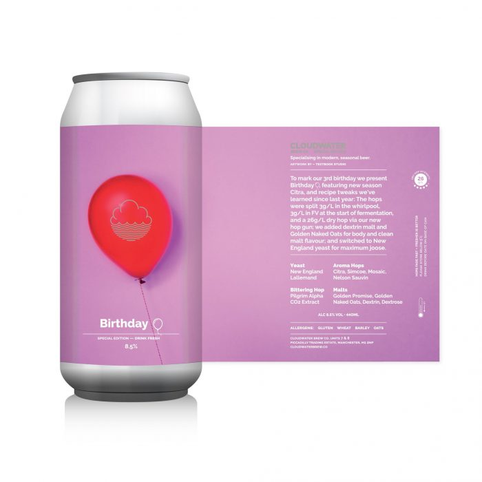 Cloudwater Birthday DIPA 2018