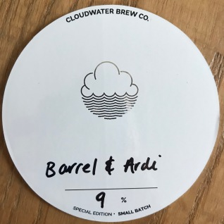 Cloudwater, Bourbon Triple with Citra Hops