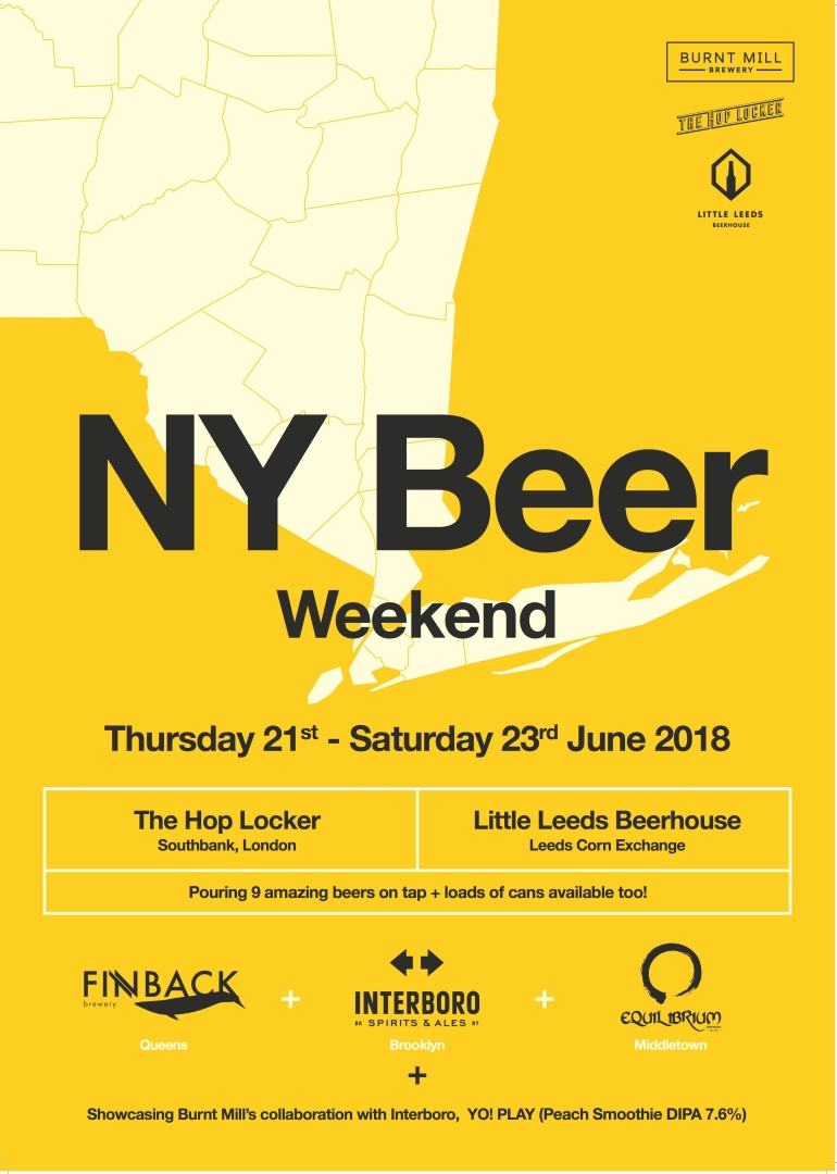 NY beer weekend poster
